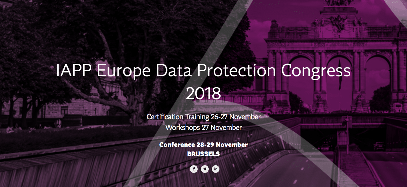 Iaap Europe Data Protection Congress Steve Wright Privacy Culture